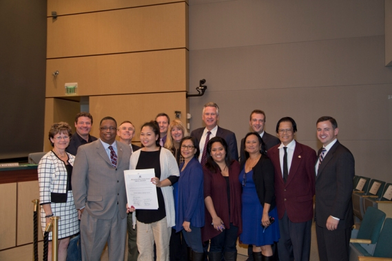 King County Council Proclaims October FAHM